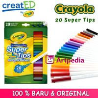 Crayola Washable Super Tips Fine Line Markers - 20 / Crayola set 20