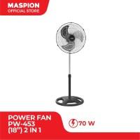 """Maspion Power Fan 18"""" PW - 453 ( 2 In 1 )"""
