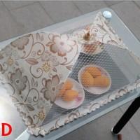 Umbrella Food Cover Square / Tudung Saji Segi Shabby Penutup Makanan