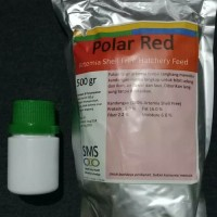 Pakan Artemia Shell Free Polar Red 35 Gram