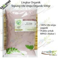 Lingkar Organik Tepung Ubi Ungu Organik 500gr