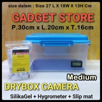Drybox Kamera Size 27 L X 18W X 13H Cm