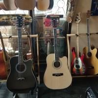 gitar murah akustik baru dan keren (area bekasi)