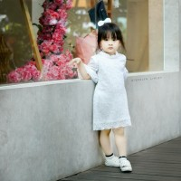 Arya Dress Brokat Anak Baju Pesta Anak