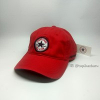 Topi Converse Import Ori - Red