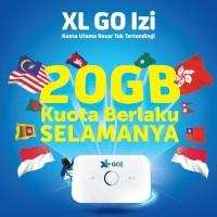 XL GO IZI Huawei E5573 bundling 20GB - Free XL Pass Lite 1 Tahun