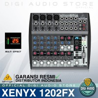 BEHRINGER XENYX 1202FX [ 1202 FX ] MIXER 12 CHANNEL WITH AUDIO FX