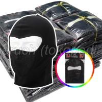 masker motor ninja polos penutup wajah pelindung kepala balaclava mask