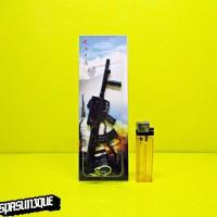 Gantungan Kunci PUBG - Assault Rifle GROZA 16cm