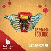 Kunci Double Ring Set 8Pc Xander - PROMO Best Deals