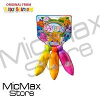 Bananas Toy Collectible (Yellow, Orange, Pink) Mainan Pisang Squishy