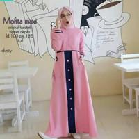 Baju Muslim Wanita Syari Terbaru Murah Trendy Maxi Dress