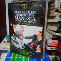 Buku - MANAJEMEN SUMBER DAYA MANUSIA UNTUK PERUSAHAAN - edisi 3
