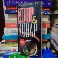Buku - KUHP DAN KUHAP - Edisi Revisi - Andi Hamzah