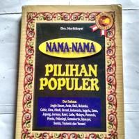Original bekas NAMA-NAMA PILIHAN POPULER - Drs. Nurhidayat