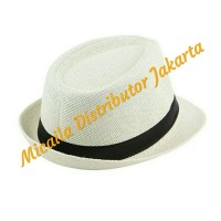 23e1e7ba69a92 Topi Fedora Wanita Dewasa