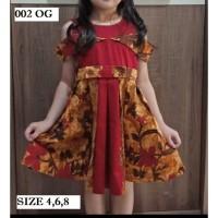 Jual Dress Batik Anak Motif Lengkap Harga Dress Batik Anak Terbaru