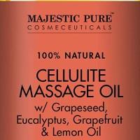 Majestic Pure Natural Cellulite Massage Oil