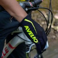 SARUNG TANGAN AVELIO AERO NEON GREEN full finger - Breathable Gloves