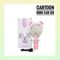 Cartoon Mini Fan 09/ Kipas Angin Karakter/ Hello Kitty/ Rabbit/ Bear