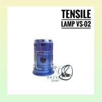 Tensil Lamp VS-02/ Lampu Tarik 5800t/ Lentera/ Solar/ Senter/ Camping