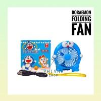Doraemon Folding Fan/Kipas Angin/ Kipas Gagang/ Kipas Gagang Doraemon