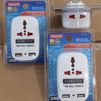 Kenmaster Universal Socket dan USB