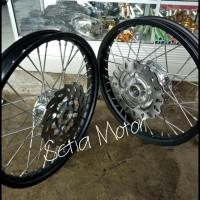Kualitas Terbaik Velg Sepaket Motor Ninja R/Ninja Rr/Vixion
