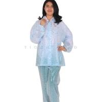 Jas hujan setelan celana press waterdrop / rintik air / Tiger - 68243