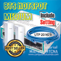 Paket Medium BTS Hotspot Dengan Mikrotik RB750r2