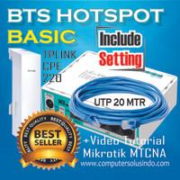 Paket Small BTS Hotspot dengan Mikrotik RB750r2