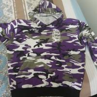 Hoodie ASSC Option Purple Camo / Hoodie Anti Social Social Club /