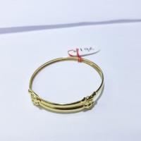New Product!!! Gelang Emas Kuning Untuk Bayi Berat 1 Gram. Baby Bangle