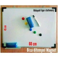 Special Product Papan Tulis + Spidol + Penghapus White Board + Magnet