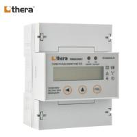 THERA TEM055-D, DIN-Rail kWh Meter 3-Phase LCD 2-Tariff, Modbus-RTU