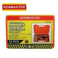 Kenmaster Kunci Sok Set 22 Pcs Premium Professional Soc Berkualitas