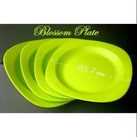 SALE PROMO Piring Blossom plate blossom hijau 4pcs