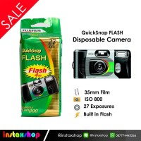 Fujifilm Disposable Camera QuickSnap Flash Iso 800 - 27exp