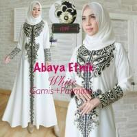 Harga baju gamis wanita terbaru abaya etnik | Pembandingharga.com