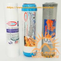 Paket Sparepart Cartridge Filter Air GM 3 - SGC (Sediment - GAC - CTO)