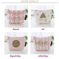 Dompet koin dan kartu / coin purse CUTE PINK edition