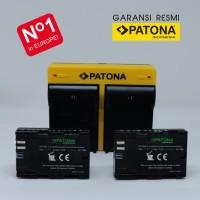 PATONA for Canon LP-E6, LPE6, LP-E6N, LPE6N, 5D 6D 7D 60D 70D 80D - Battery KIT