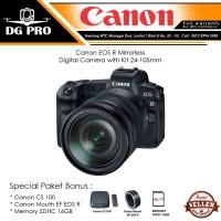 Harga canon eos r mirrorless digital camera with kit 24 | Pembandingharga.com