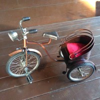 Miniatur Becak Sepeda Cina