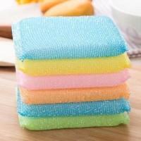 spons cuci piring warna warni/spons cuci piring praktis/spons rainbow