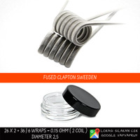 Fused Clapton Coil Prebuild [Nichrome80]
