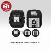 FLASH HOT SHOE ADAPTER PIXEL TF-334