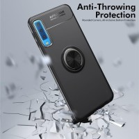 Softcase Samsung A7 2018/A750 Autofocus Invisible Iring TPU Casing