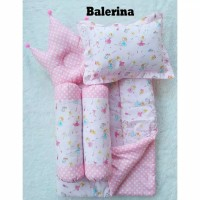 Bedcover set bayi | baby bedding set | selimut bantal Kitty Tosca