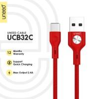 UNEED Kabel Data Type C Fast Charging 2.4 - UCB32C